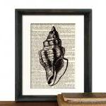 Beach Decor - Seashell Art ..