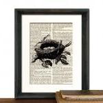 Bird Nest Art Print - Mothe..