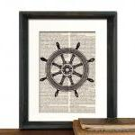 Nautical Decor - Ship Wheel..